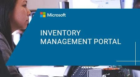 Azure Inventory management Portal