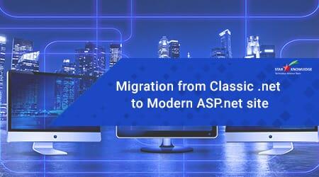 Classic .NET to Modern ASP.NET site