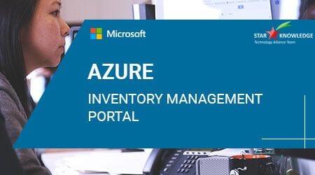Azure Inventory management Portal
