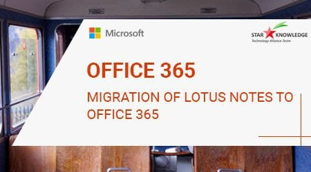 Migration of Lotus Notes to Office365