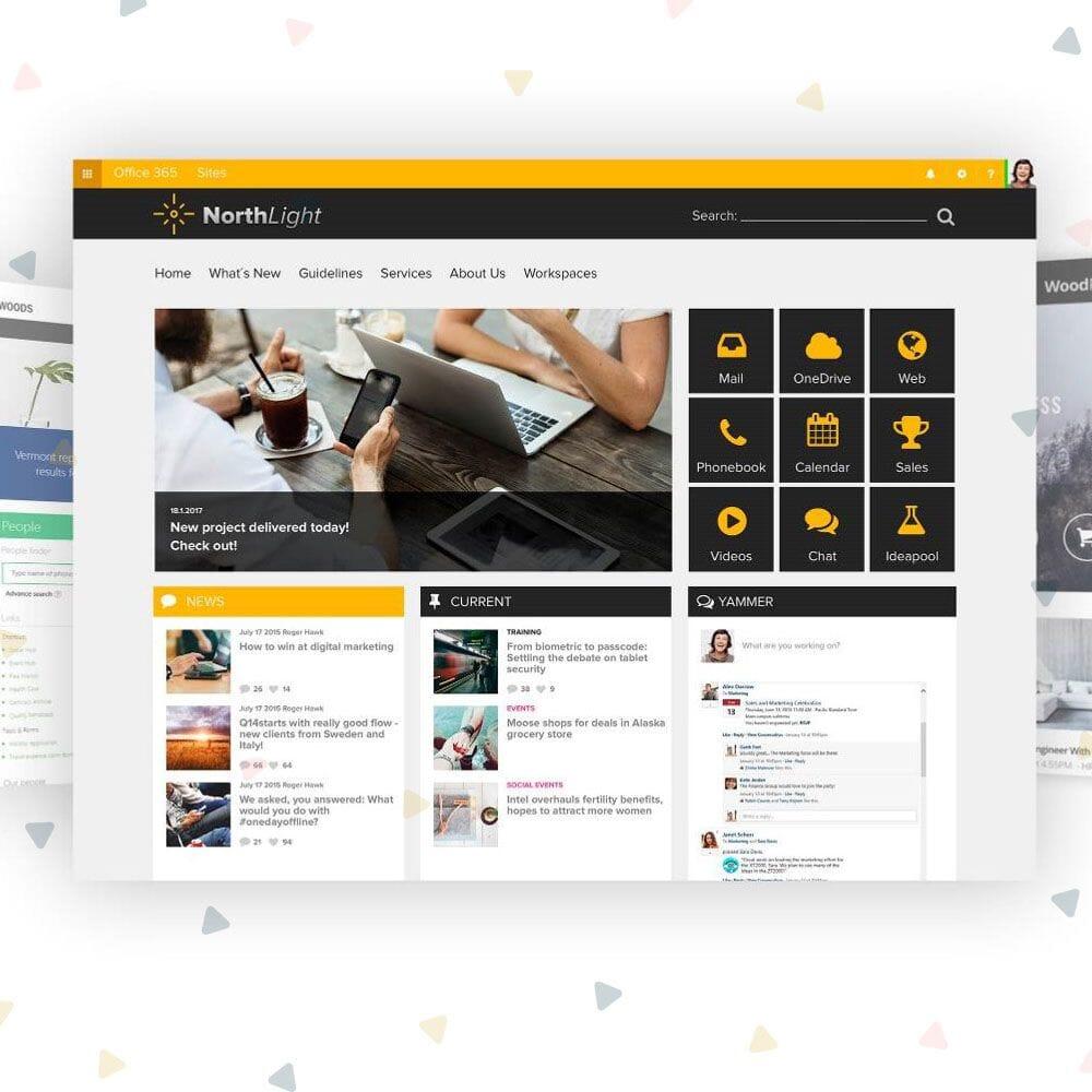 sharepoint modern intranet