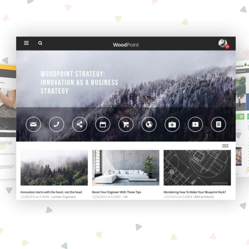 modern sharepoint intranet