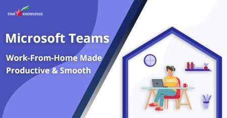 Microsoft teams work from home