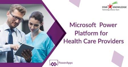 Power Platform for Healthcare software